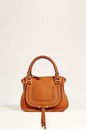 Chloé  - Handtasche 'Marcie Medium' Tan