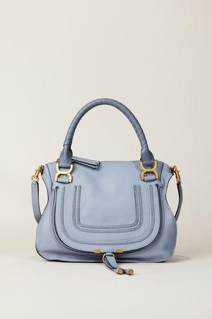 Chloé  - Handtasche 'Marcie Medium' Washed Blue