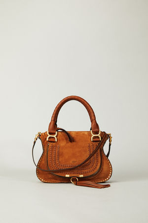 Chloé  - Handtasche 'Marcie Small' Caramel