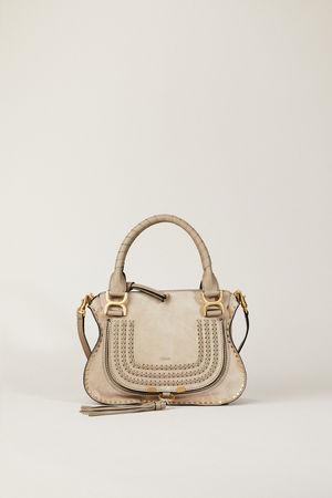 Chloé  - Handtasche 'Marcie Small' Motty Grey