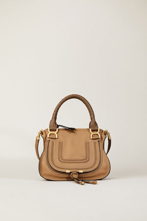 Chloé  - Handtasche 'Marcie Small' Nut