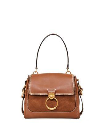 Chloé  - Handtasche 'Tess Day Crafted' Tan braun