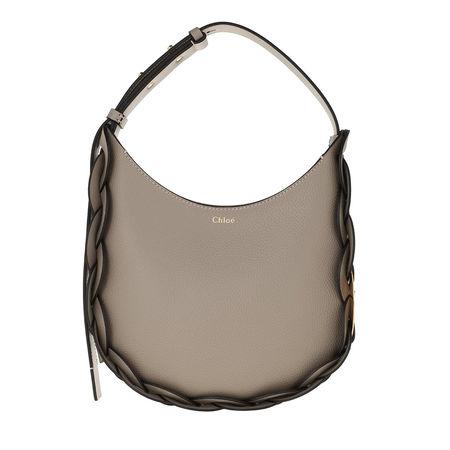 Chloé  Hobo Bag - Darryl Small Hobo Bag Leather - in gray - für Damen braun