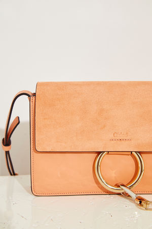 Chloé  - Umhängetasche 'Faye Classic Small' Canyon Sunset