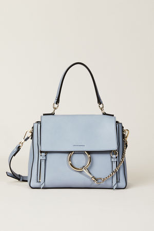 Chloé  - Umhängetasche 'Faye Day Small' Washed Blue