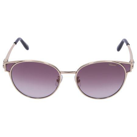 Chopard  Sonnenbrille Wayfarer SCHC21 0300 Metall gold grau
