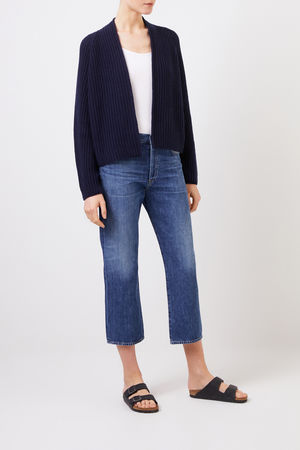 Citizens of Humanity  - High-Rise Jeans 'Emery' Blau