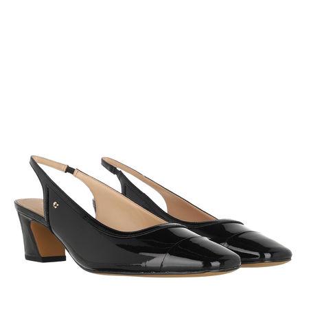 Coach  Boots & Stiefeletten - Dani Patent Slingback - in black - für Damen schwarz
