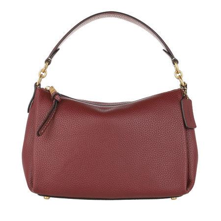 Coach  Crossbody Bags - Soft Pebble Leather Shay Crossbody - in rot - für Damen braun