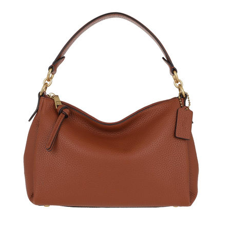 Coach  Hobo Bag - Soft Pebble Leather Shay Crossbody - in cognac - für Damen braun