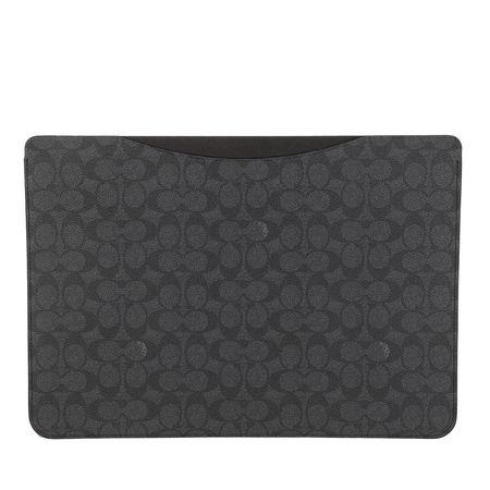 Coach  Laptoptaschen - 16 Inch Laptop Sleeve In Signature - in grau - für Damen grau