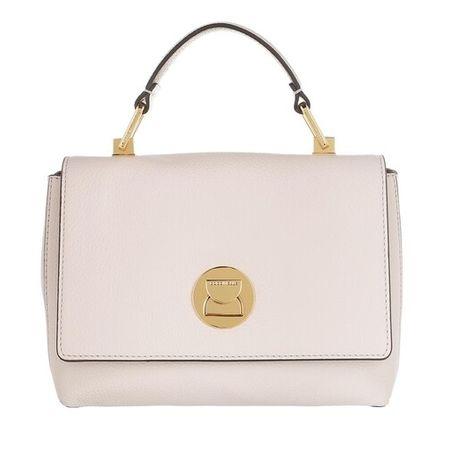 COCCINELLE  Clutches - Liya Satchel Bag - in weiß - für Damen braun