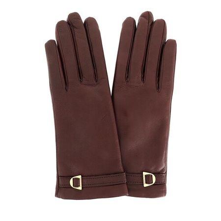 COCCINELLE  Handschuhe - Gloves Leather - in braun - für Damen