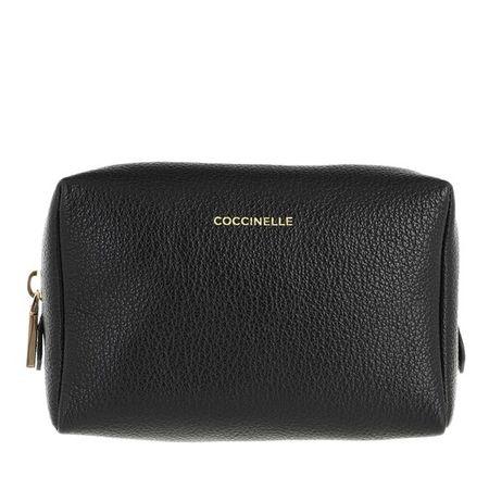 COCCINELLE  Kosmetiktaschen - Tris Trousse Minibag - in schwarz - für Damen