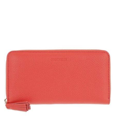 COCCINELLE  Portemonnaie - Tresor Wallet - in rot - für Damen rot