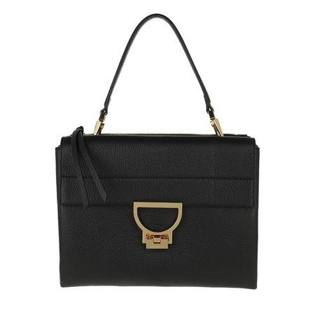 COCCINELLE  Satchel Bag  -  Arlettis Crossbody Bag Noir  - in schwarz  -  Satchel Bag für Damen schwarz