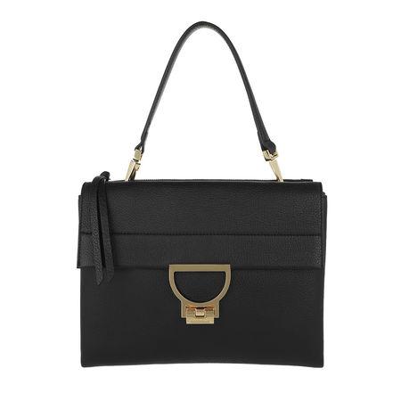 COCCINELLE  Satchel Bag  -  Arlettis Shoulder Bag Noir  - in schwarz  -  Satchel Bag für Damen schwarz