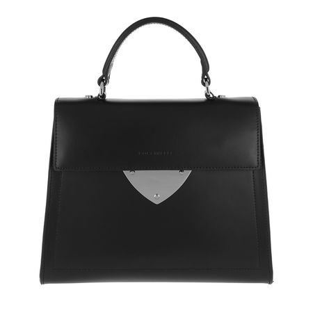 COCCINELLE  Satchel Bag  -  Design Noir Tote  - in schwarz  -  Satchel Bag für Damen schwarz