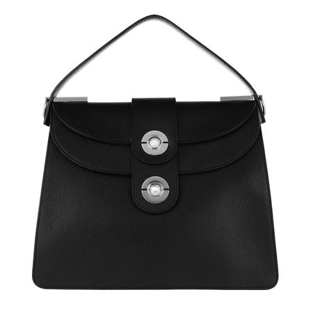 COCCINELLE  Satchel Bag  -  Leila Satchel Bag Noir  - in schwarz  -  Satchel Bag für Damen schwarz