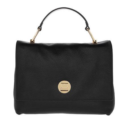 COCCINELLE  Satchel Bag  -  Liya Crossbody Bag Noir  - in schwarz  -  Satchel Bag für Damen schwarz