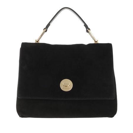 COCCINELLE  Satchel Bag - Liya Crossbody Leather - in schwarz - für Damen schwarz