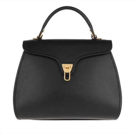 COCCINELLE  Satchel Bag  -  Marvin Crossbody Bag Noir  - in schwarz  -  Satchel Bag für Damen grau