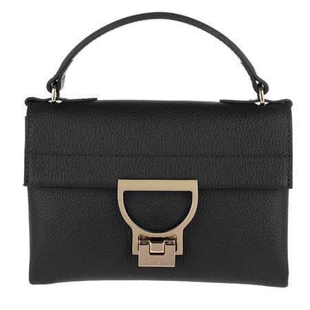 COCCINELLE  Satchel Bag  -  Mignon Crossbody Bag Noir  - in schwarz  -  Satchel Bag für Damen schwarz