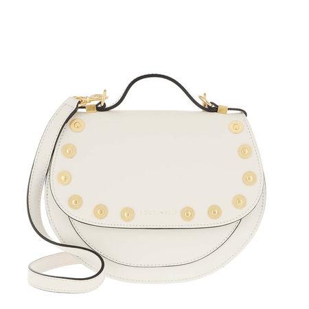 COCCINELLE  Satchel Bag  -  Sirio Coin Crossbody Bag Chalk  - in weiß  -  Satchel Bag für Damen beige