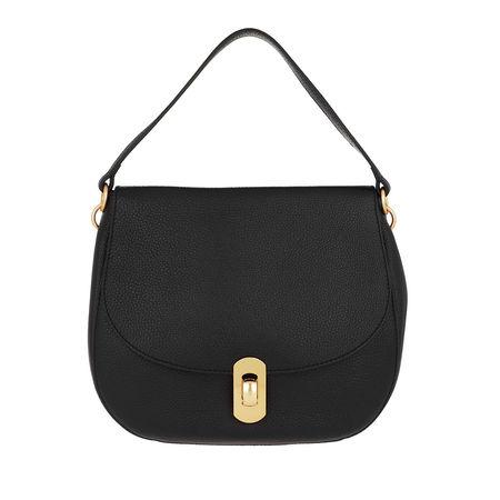 COCCINELLE  Satchel Bag  -  Zaniah Satchel Noir  - in schwarz  -  Satchel Bag für Damen schwarz