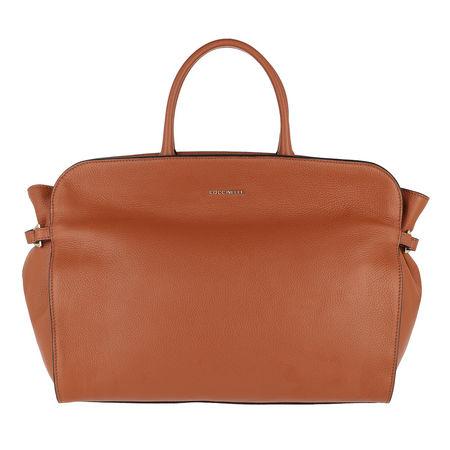 COCCINELLE  Tote  -  Ella Handle Bag Tan  - in cognac  -  Tote für Damen rot