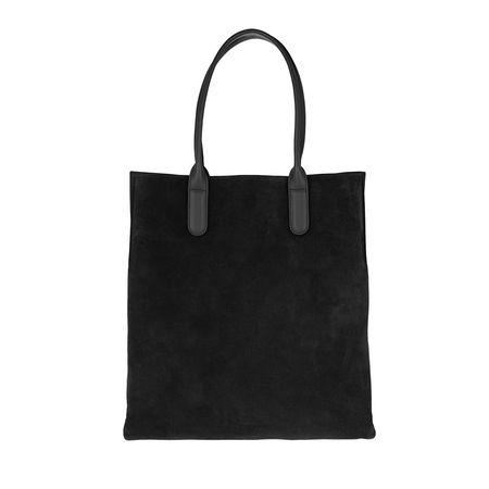 COCCINELLE  Tote  -  Sandy Bimaterial Bucket Bag Noir  - in schwarz  -  Tote für Damen schwarz