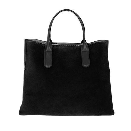 COCCINELLE  Tote  -  Sandy Bimaterial Shopping Bag Noir  - in schwarz  -  Tote für Damen schwarz