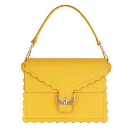 COCCINELLE  Umhängetasche  -  Ambrine Merletto Crossbody Bag Radiant  - in gelb  -  Umhängetasche für Damen orange