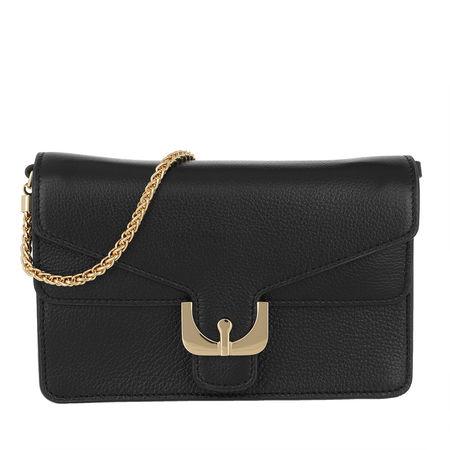 COCCINELLE  Umhängetasche  -  Ambrine Soft Crossbody Bag Noir  - in schwarz  -  Umhängetasche für Damen schwarz