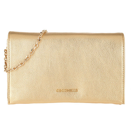 COCCINELLE  Umhängetasche  -  Kalliope Crossbody Bag Platino  - in gold  -  Umhängetasche für Damen orange