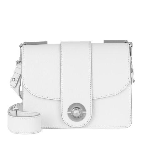 COCCINELLE  Umhängetasche  -  Leila Satchel Bag Blanche  - in weiß  -  Umhängetasche für Damen grau