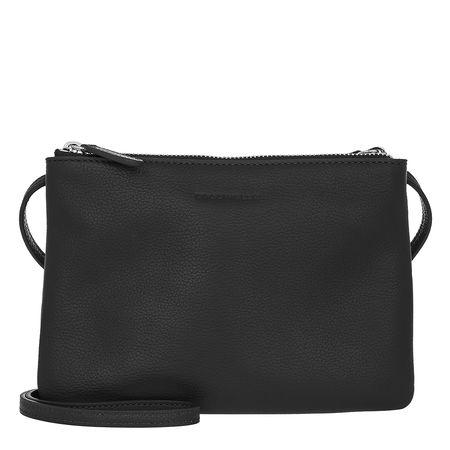 COCCINELLE  Umhängetasche  -  Mini Bag Noir  - in schwarz  -  Umhängetasche für Damen grau