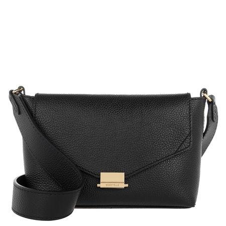 COCCINELLE  Umhängetasche - Mini Bag Pelle Vitello Noir - in schwarz - für Damen
