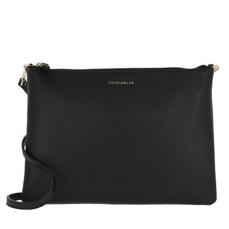 COCCINELLE  Umhängetasche  -  Mini Crossbody Bag Noir  - in schwarz  -  Umhängetasche für Damen schwarz