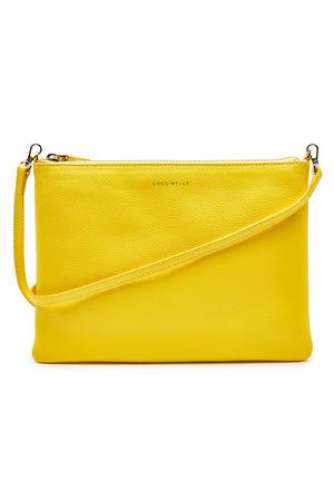 COCCINELLE  Umhängetasche New Best aus Leder gelb