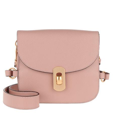 COCCINELLE  Umhängetasche  -  Zaniah Satchel Bag Pivoine  - in rosa  -  Umhängetasche für Damen braun