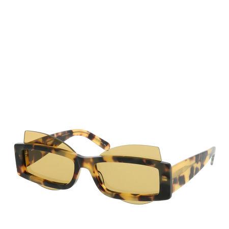 Courrèges  Sonnenbrille  -  CL1904-001 58  - in gelb  -  Sonnenbrille für Damen orange