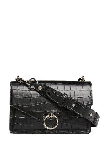 Rebecca Minkoff Jean Md Shoulder Bag Cocco Bags Small Shoulder Bags/crossbody Bags Schwarz  schwarz