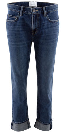 Current Elliott  - Cropped Jeans The Fling grau