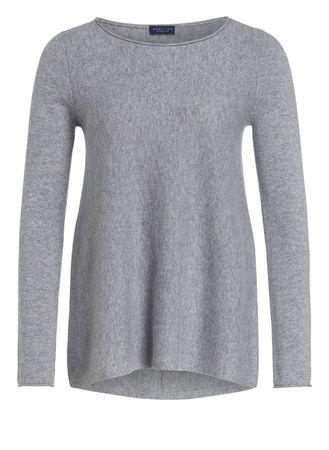 Darling Harbour  Cashmere-Pullover grau grau