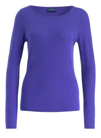 Darling Harbour  Cashmere-Pullover violett blau