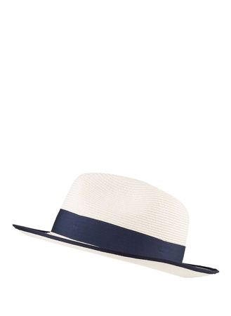 Darling Harbour  Strohhut blau beige