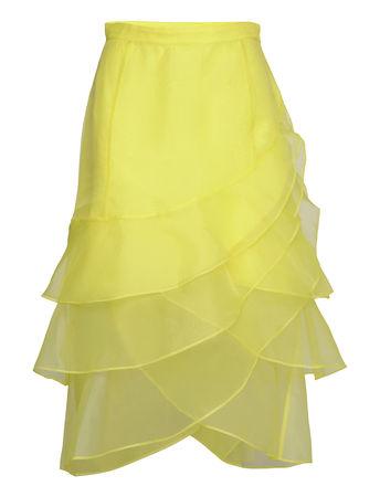 Day Birger et Mikkelsen Day Fairy Knielanges Kleid Gelb  gruen