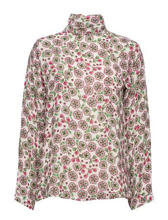 Day Birger et Mikkelsen Day Fiore Bluse Langärmlig Pink  braun