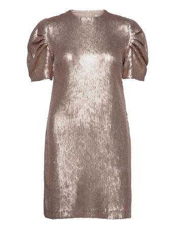 Day Birger et Mikkelsen Day Glitter Kurzes Kleid  braun